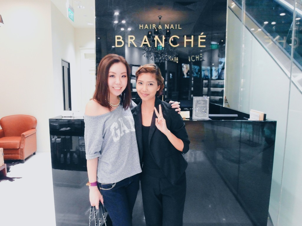 ese hair salon sharon a chia the following week i went back to the salon to do my coloring ichi did refined hair color for me he picked highlight in ash lowlight in dark brown and